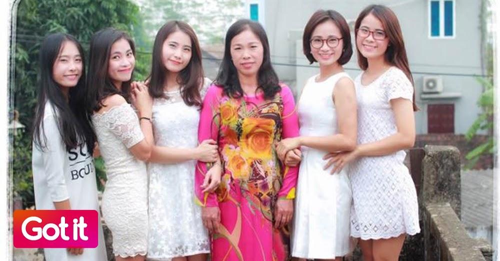 bố bỏ mẹ, 5 cô con gái, chuyện gia đình