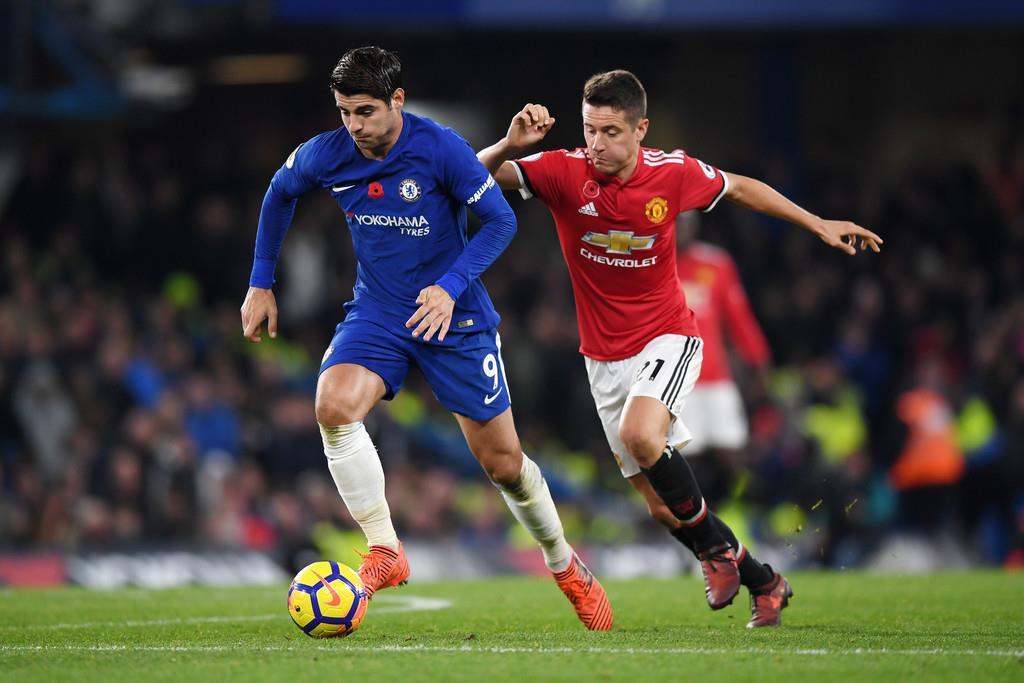 Những thống kê nổi bật giữa trận Man United và Chelsea