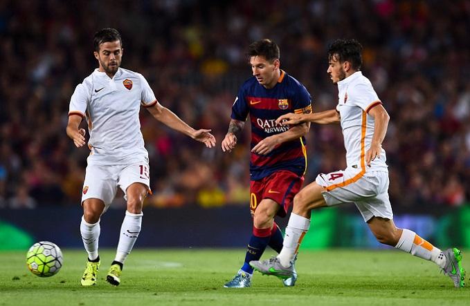 Nhận định Barcelona vs AS Roma