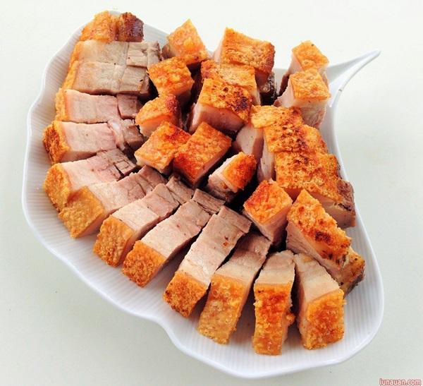 thịt áp chảo cực ngon