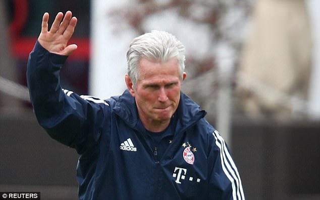 HLV Jupp cho rằng Bayern thắng nhưng họ đã thất bại