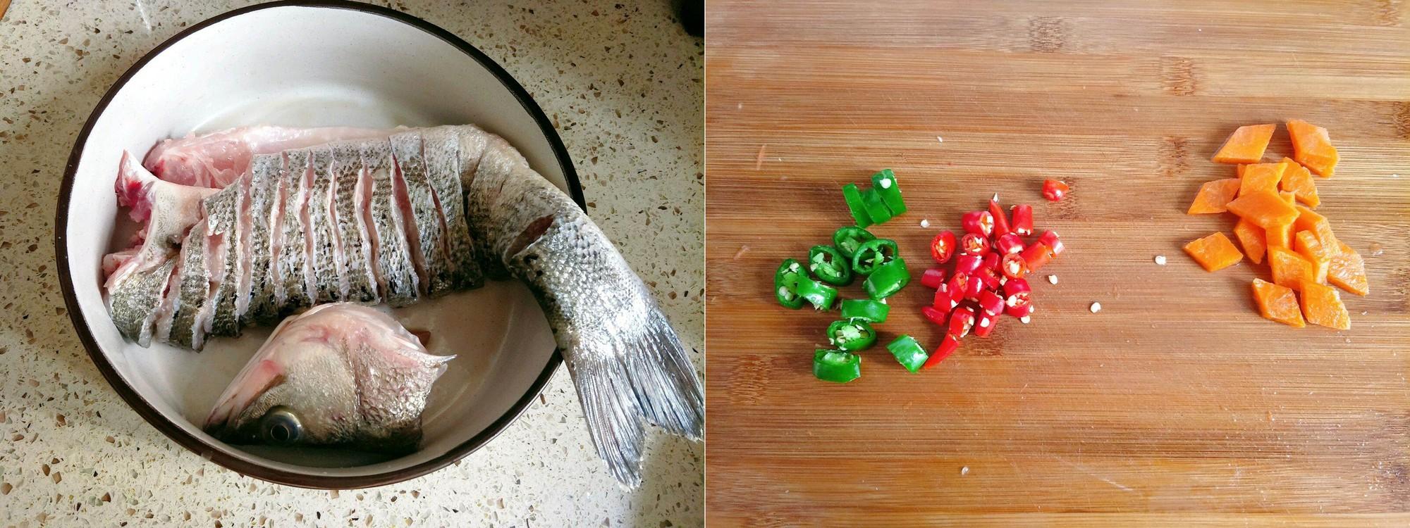 Nguyên liệu và cách làm món cá hấp