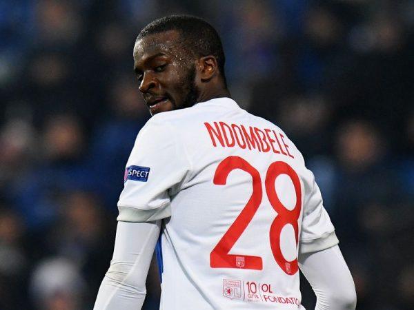 Tanguy Ndombele trong màu áo Lyon