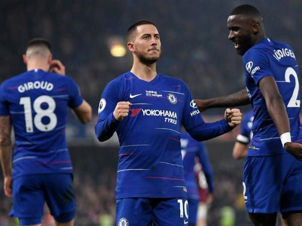 Hazard lập cú đúp giúp Chelsea thắng Westham 2-0