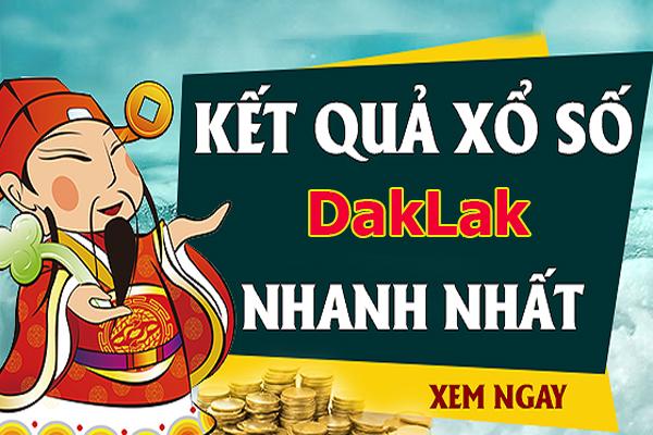 Soi cầu XS Daklak chính xác thứ 3 ngày 27/08/2019