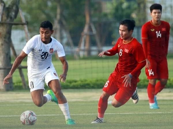 U22 Việt Nam hòa U22 Myanmar trước khi dự SEA Games