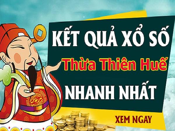 Soi cầu dự đoán XS Thừa Thiên Huế Vip ngày 18/11/2019