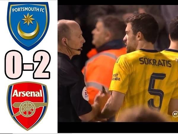 Điểm nhấn Portsmouth 0-2 Arsenal: Arsenal nuôi hy vọng
