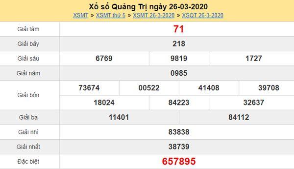 Soi cầu XSQT 23/4/2020 - Soi cầu KQXS Quảng Trị thứ 5