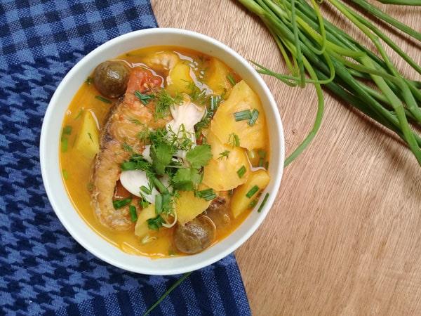 Cách nấu canh cá chua thanh mát đưa cơm ngày hè