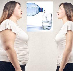 Uống nước giảm cân có thực sự hiệu quả