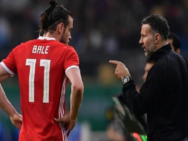 Ryan Giggs không lo lắng về Bale